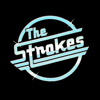 Strokes_Round_Retro_Logo_Black_Shirt
